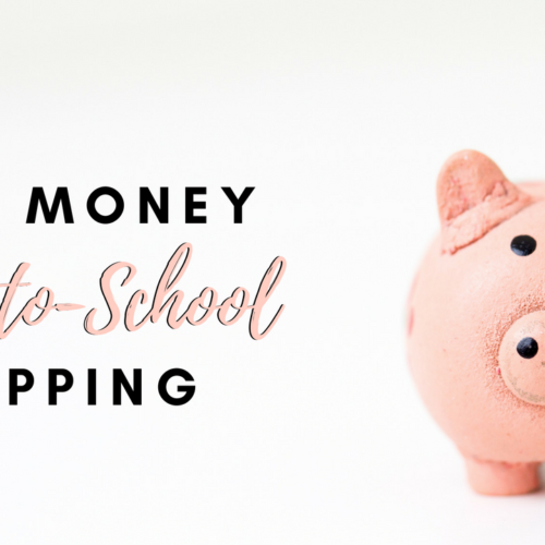Thrifty Back-To-School Tips