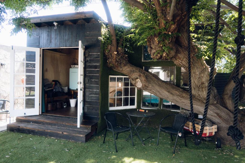 Air Bnb Tiny House San Go