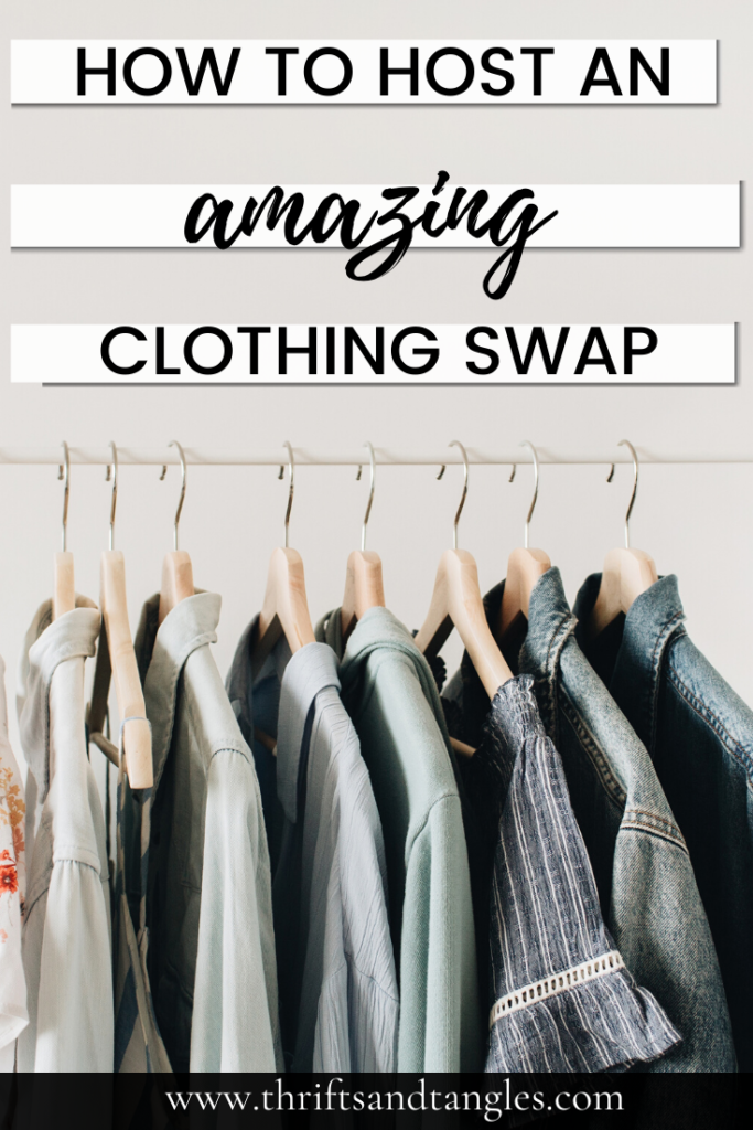 How to Host an Epic Clothing Swap