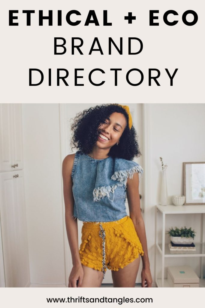 Ethical and Eco Brand Directory